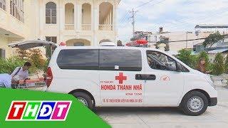 Doanh nghiệp tặng xe cứu thương chuyển bệnh miễn phí   THDT