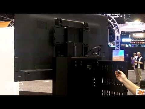 InfoComm 2015: AVTEQ Shows Height-Adjustable Display Cart