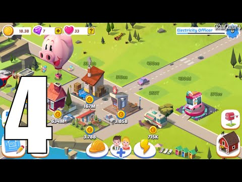 Build Away! - Idle City Builder Builder Android Gameplay #4 - Electricity Officer