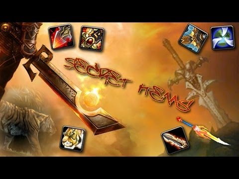 World of Warcraft Secret Items