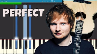 Download Lagu Ed Sheeran - Perfect - Piano Tutorial Gratis STAFABAND