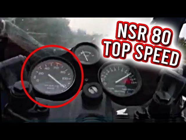 Onboard ride Honda Nsr 80