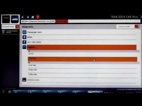 TEXA Navigatot TXT - IDC4 BMW Coverage