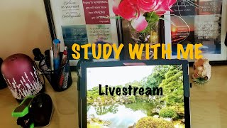 STUDY WITH ME LIVE  ON CAMPUS LATE AFTERNOON-NIGHT SESSION (10.07.2019) (US)