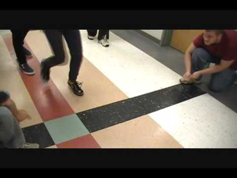 Psychology experiment :invisible rope