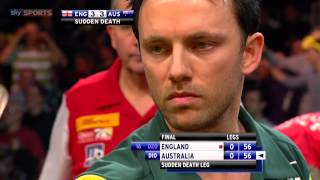 World Cup of Darts 2012 Final - Sudden death between England and Australia