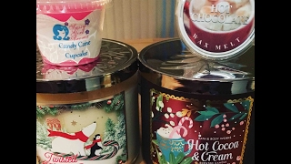 Candle/Wax Chat...Bath & Body Works, Sassy Girl Aroma & Kringle