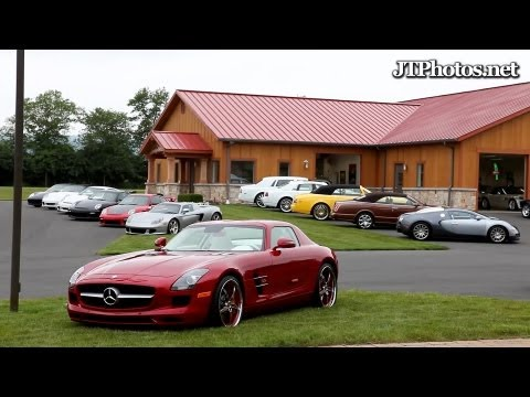 Biggest supercar collection in the USA