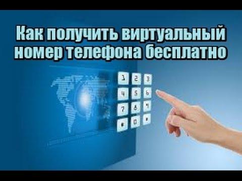Купить бесплатный виртуальный номер