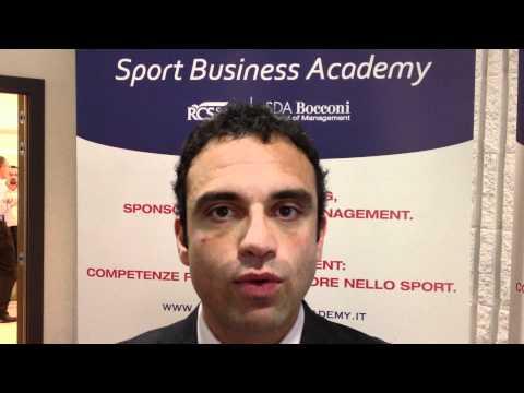 Sport Business Academy – Prof. Dino Ruta (II parte)