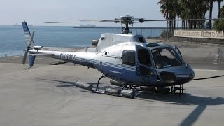 Helicopter from Catalina Island to Long Beach