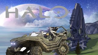 Gecrasht en Rijden met een voertuig - Halo:Combat Evolved