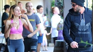 David Beckham Enjoys Spin Class In Brentwood