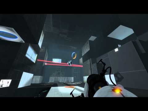 Portal 2 walkthrough - Chapter 4: The Surprise - Test Chamber 19