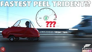 Forza Horizon 4: THE FASTEST PEEL TRIDENT!?