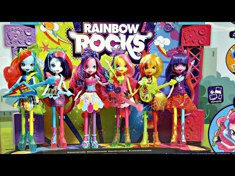Mane Event Stage Playset / Zestaw Koncert Rockowy - Rainbow Rocks - Equestria Girls - MLP - A8060