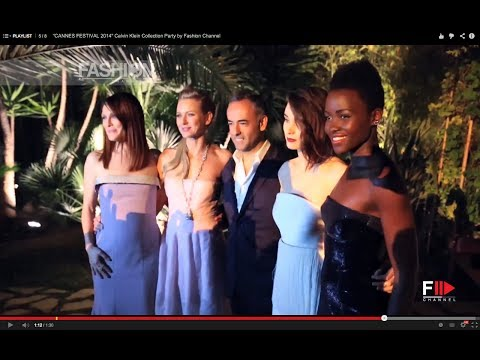 """CANNES FESTIVAL 2014"" Calvin Klein Collection Party by Fashion Channel"