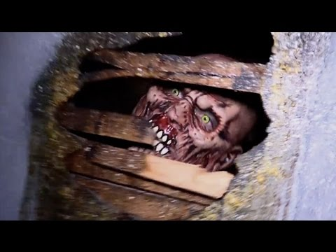 FULL Shallow Grave Haunted Hills haunted house 2014 POV walkthrough...