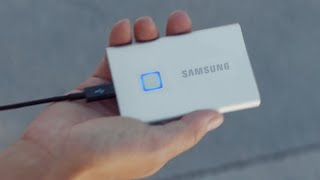 Portable SSD T7 Touch (Short) | Samsung