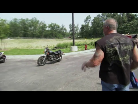 American Chopper - Motorrad-Fahrstunde