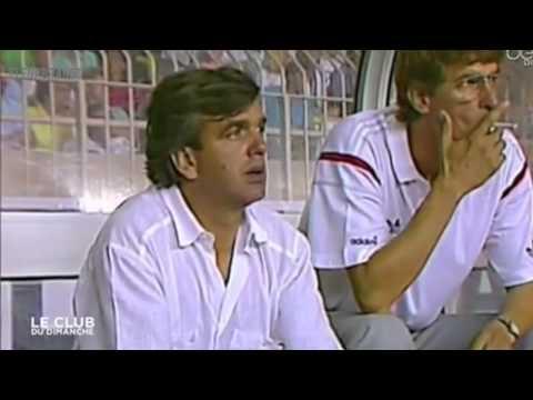 Arsene Wenger Smoking & Shouting