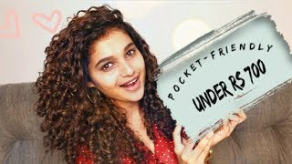 Curly Hair Routine on a budget 2019!!!! | Shruti Amin