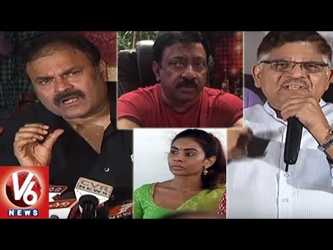 Mega Family Vs RGV Over Sri Reddy Comments On Pawan Kalyan | Casting Couch | V6 News