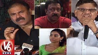 Mega Family Vs RGV Over Sri Reddy Comments On Pawan Kalyan | Casting Couch