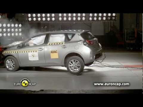 Euro NCAP | Toyota Auris | 2013 | Краш-тест
