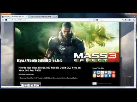 Get Free Mass Effect 3 N7 Hoodie Outfit DLC - Xbox 360 - PS3