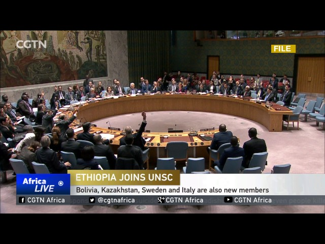 Ethiopia begins two-year term serving on UN Security Council