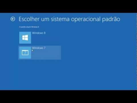 Removendo Windows 8 - Voltando inicialização para Windows 7