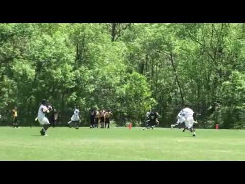 2013 Flag Football - Manassas Sharks vs. Oklahoma Sooners
