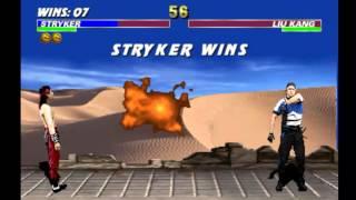 Ultimate Mortal Kombat 3 - Stryker (Arcade)