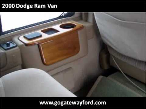 2000 Dodge Ram Van available from Gateway Ford
