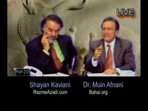Broadcast 2 Pt 12/12 گفتگو با دکتر افنانی درباره دیانت بهایی