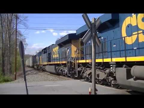 CSX Q417 Flies through West Nyack with a Nice Crew in HD