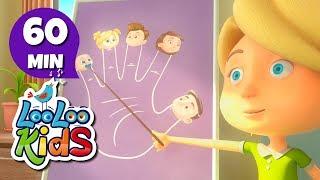 The Finger Family - Educational Songs for Children | LooLoo Kids