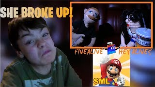 SHE BROKE UP! - Reacting To SML Movie: The Movie Date!