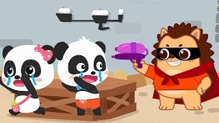 Hedgehog Wanna Make Friends with Baby Panda | Picture Book Cartoon | Sharing Song | BabyBus