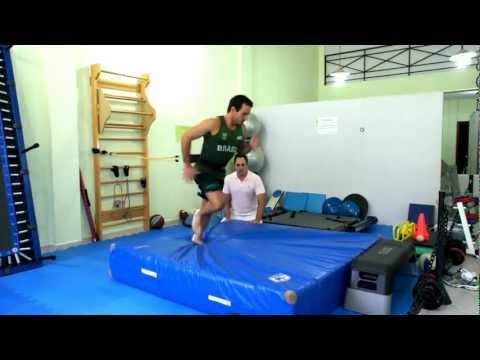 Fisioterapia Esportiva - Reabilitação de Joelho - Atleta Olimpico - Fisioterapeuta Sergio Nery