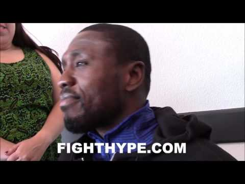 ANDRE BERTO REVEALS SMACK TALK WITH FLOYD MAYWEATHER DURING THEIR FIGHT