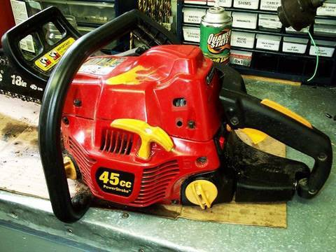 HOW TO ADJUST the Carburetor on the Homelite Timberman 45 Chainsaw