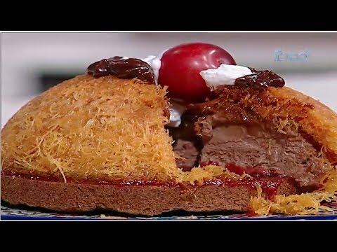 كنافه موس الشوكولاته القابله للدهن | حلقه كاملة  الشيف #غفران_كيالي #هيك_نطبخ #فوود
