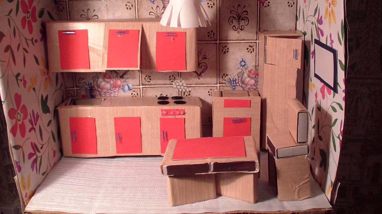 Как сделать кухню своими руками из картона 44