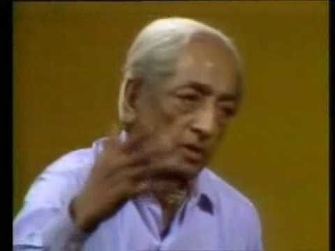 Jiddu Krishnamurti: Fear