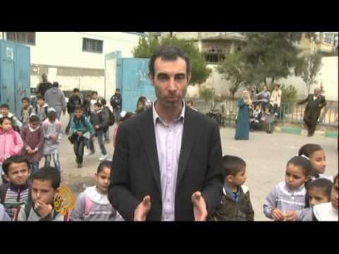 Gaza children return to school after ceasefire