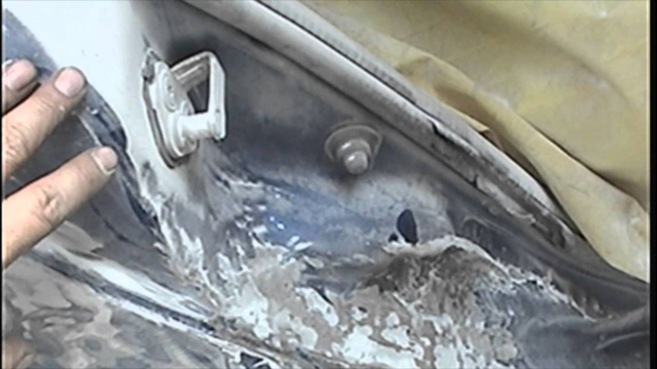 Tutorial para reparacion de auto con fibra de vidrio 1 de 2 youtube - Puertas de fibra de vidrio ...