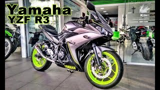 YAMAHA R3  - ESCAPE ESPORTIVO 2X1 FULL LOUGAN-RS EVOLUTION