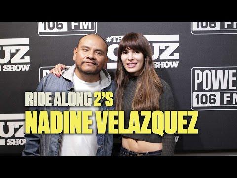 Ride Along 2's Nadine Velazquez On Full Frontal Nude Scene With Denzel Washington thumbnail